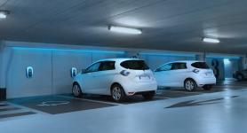 Corporate EV fleet charging