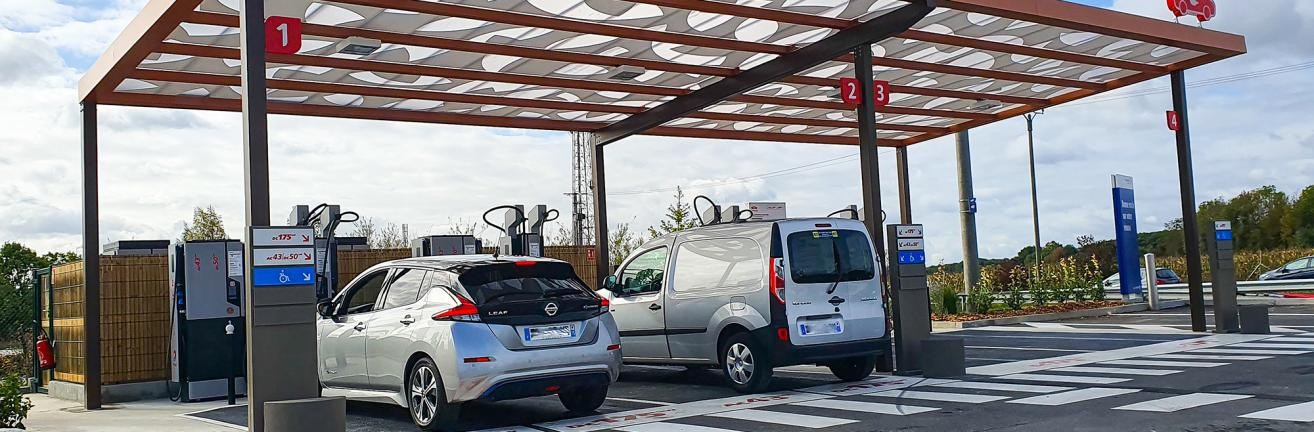 Electric mobility for companies territories and drivers